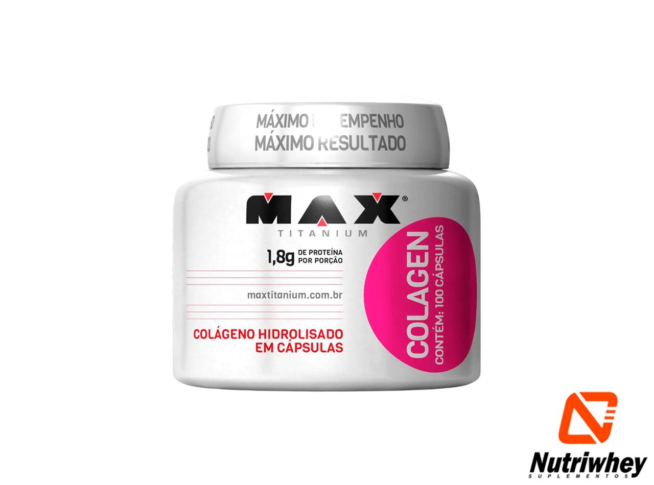 Colagen | Max Titanium | 100 Cápsulas