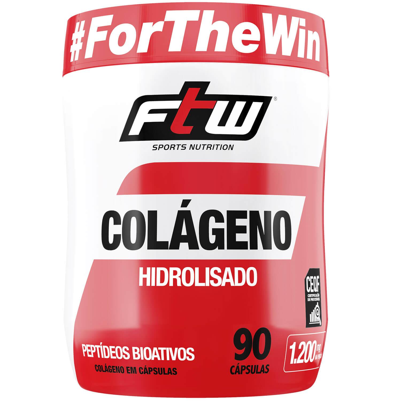 COLÁGENO HIDROLISADO (90CAPS) - FTW