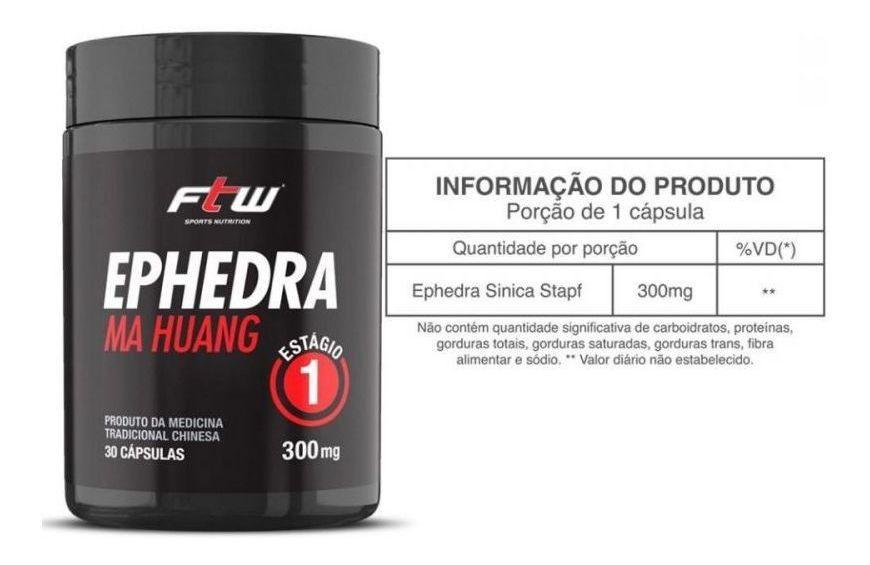COMBO CAFEINA+EFEDRIANA FTW