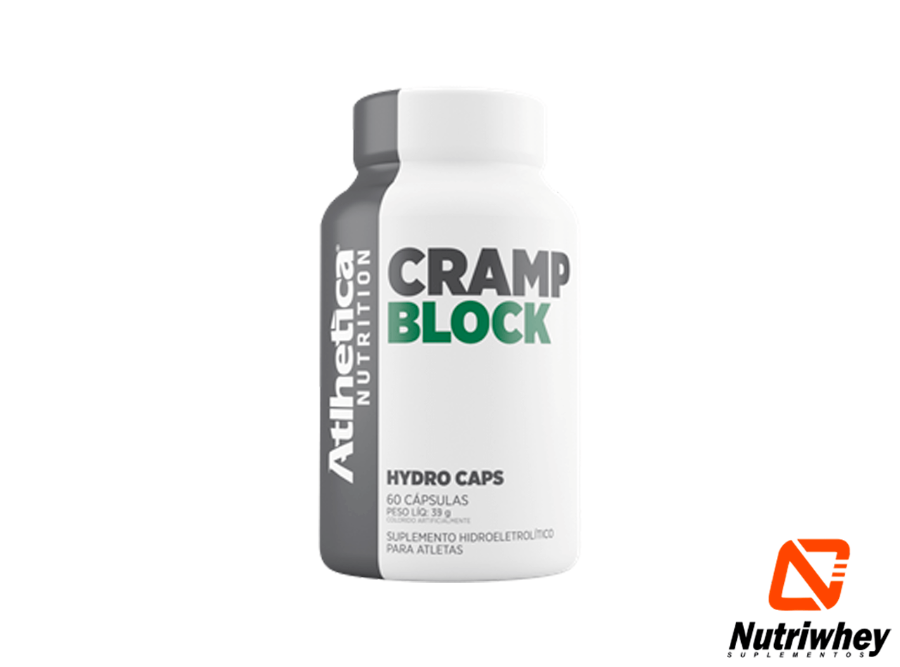 Cramp BLOCK - Endurance Series| Atlhetica Nutrition | 60 Hydro Cápsulas