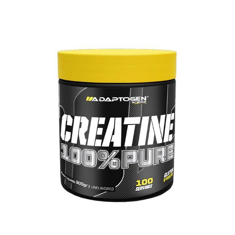 CREATINE 100% PURE (300GR)  - ADAPTOGEN