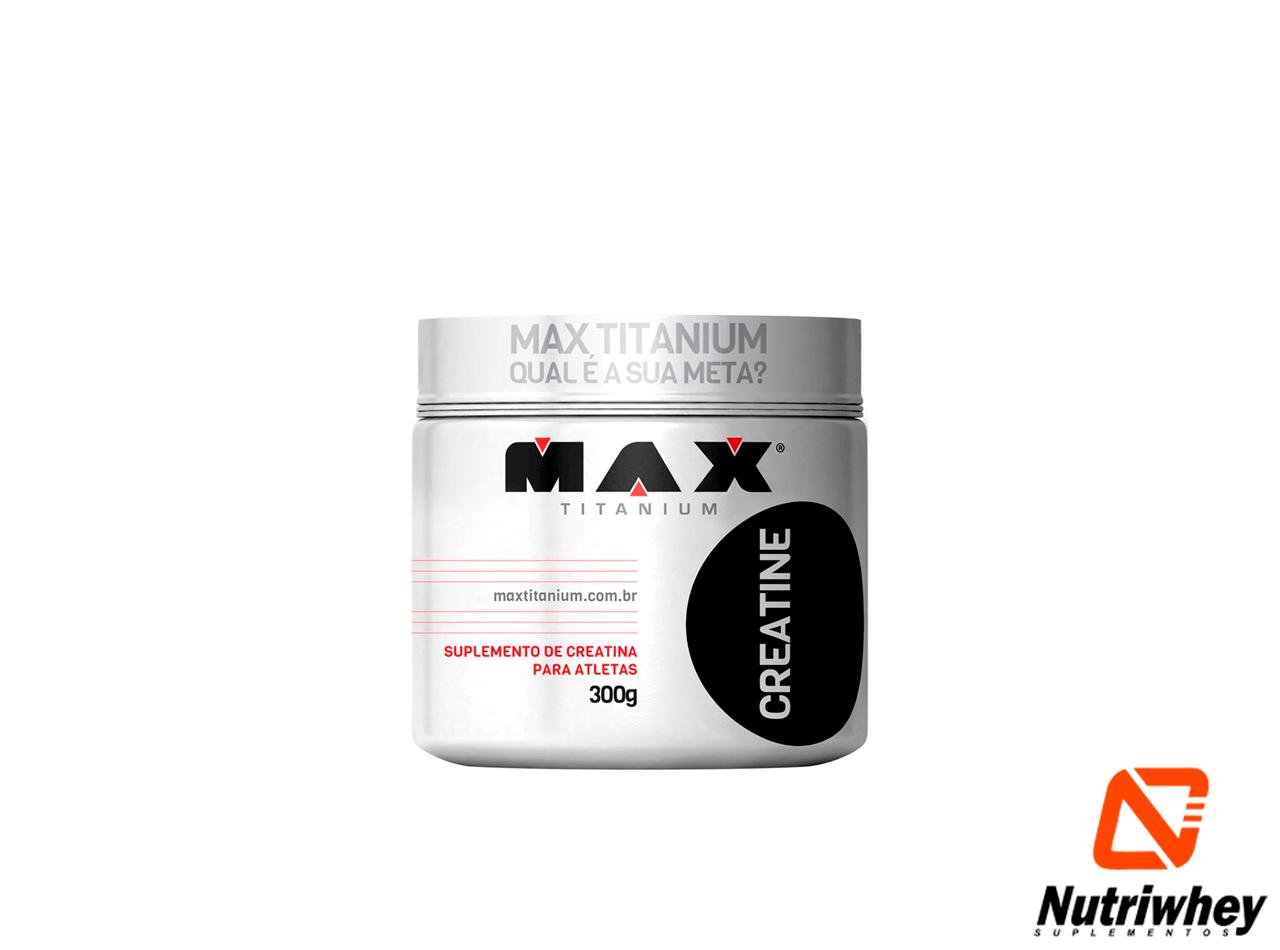 Creatine| Max Titanium | 300g