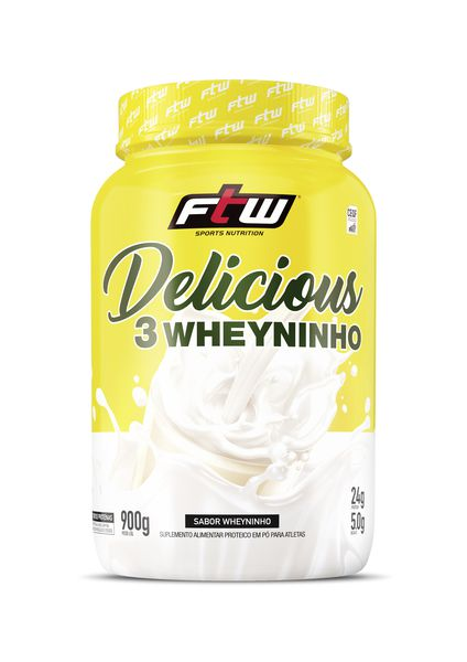 DELICIOUS WHEY 3W (900G) FTW