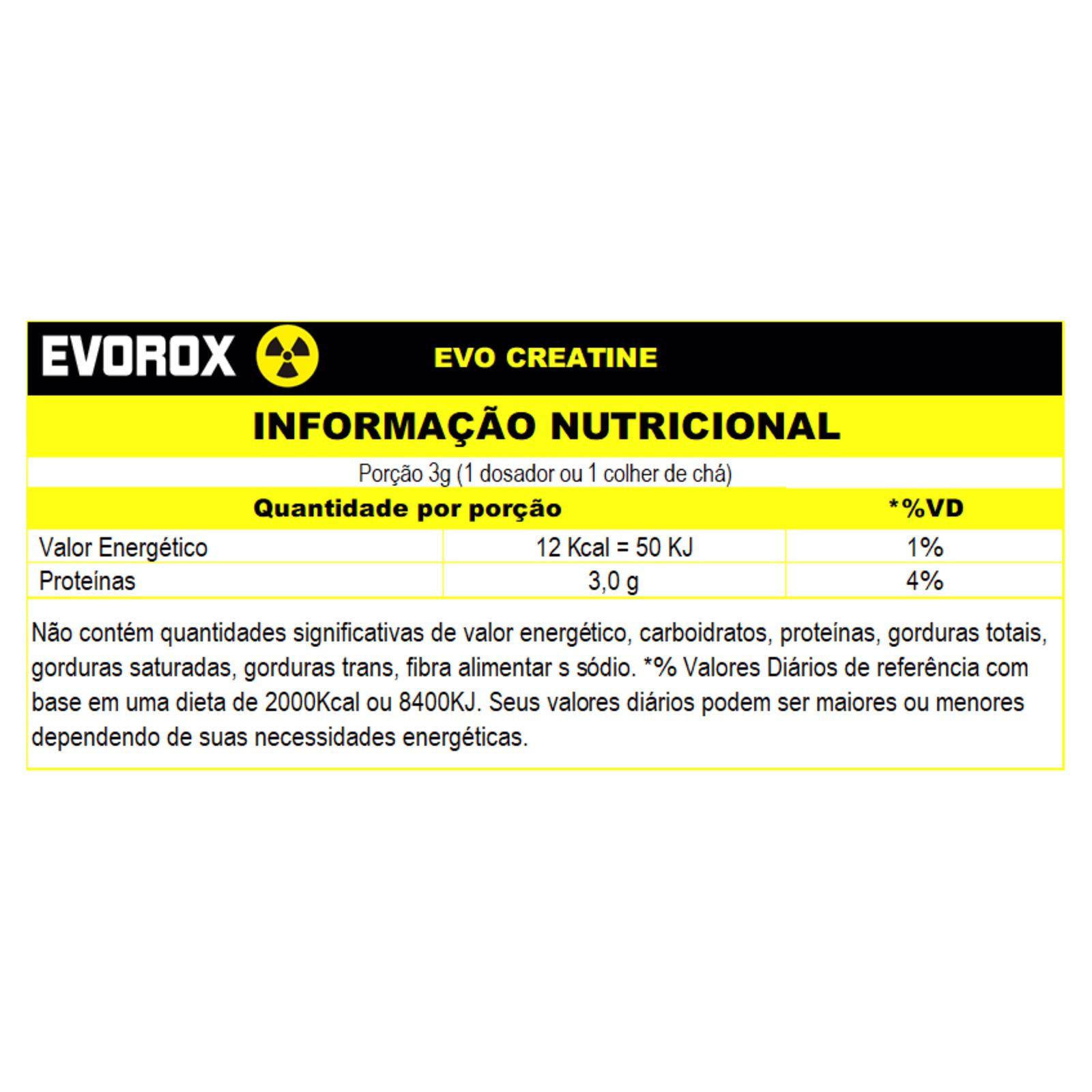 EVO CREATINE ( 100G ) - EVOROX