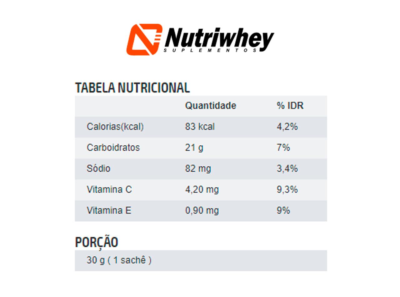 Exceed Energy Gel - Rico em Vitaminas C e E | Advanced Nutrition | 10 Sachês