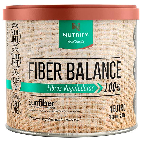 FIBER BALANCE FIBRAS REGULADORAS| NEUTRO - 200G| NUTRIFY