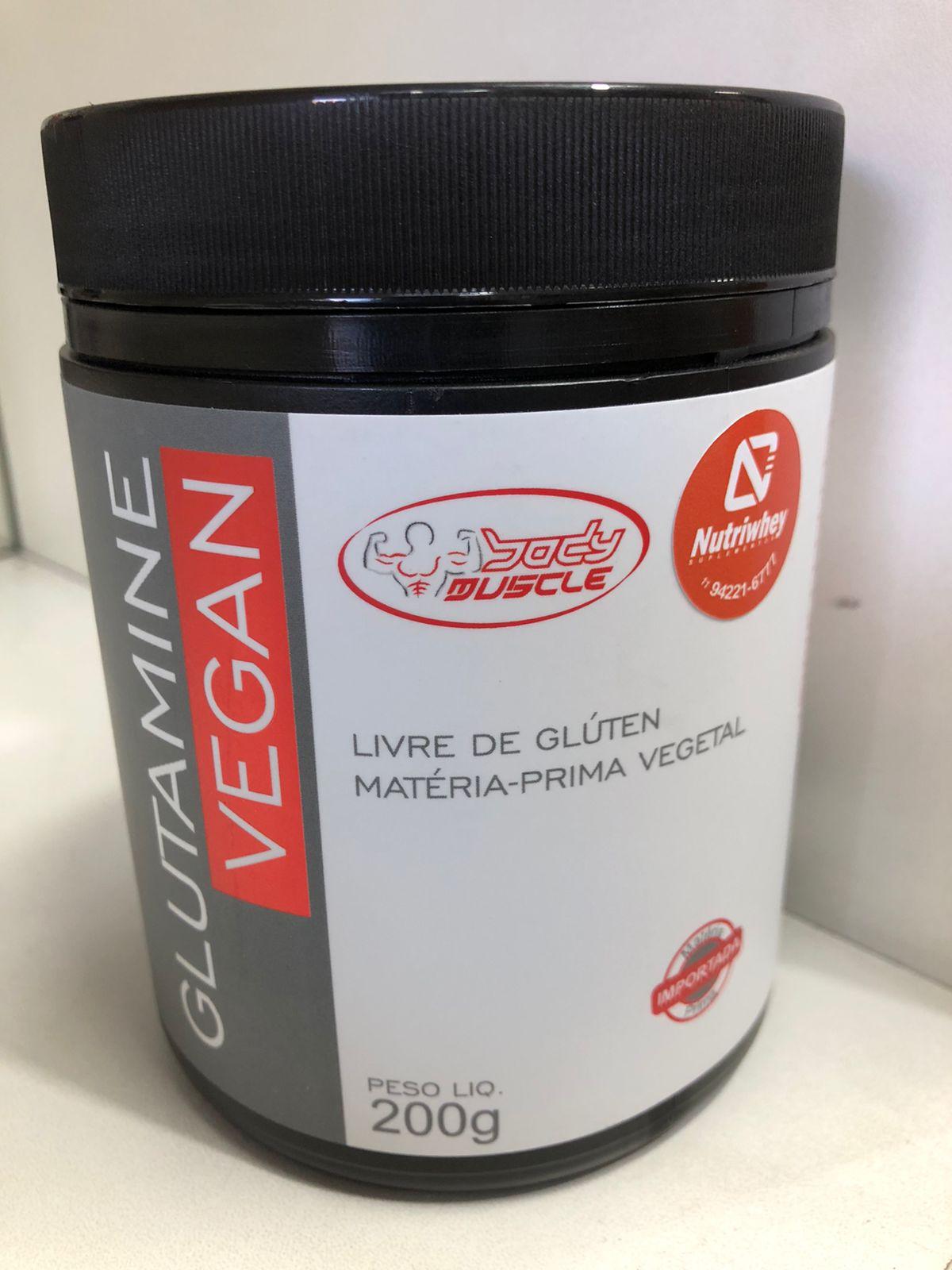 GLUTAMINE VEGAN (200G)  BODY MUSCLE