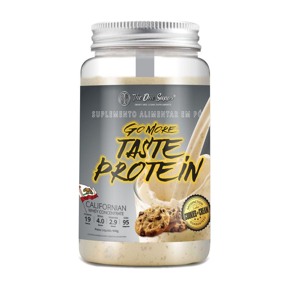 GO MORE TASTE PROTEIN| 908G| THE ONE SUPPS