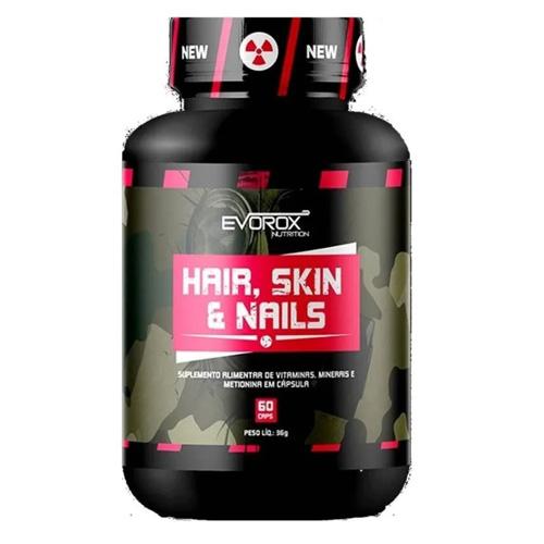 HAIR, SKIN & NAILS (60CAPS) - EVOROX