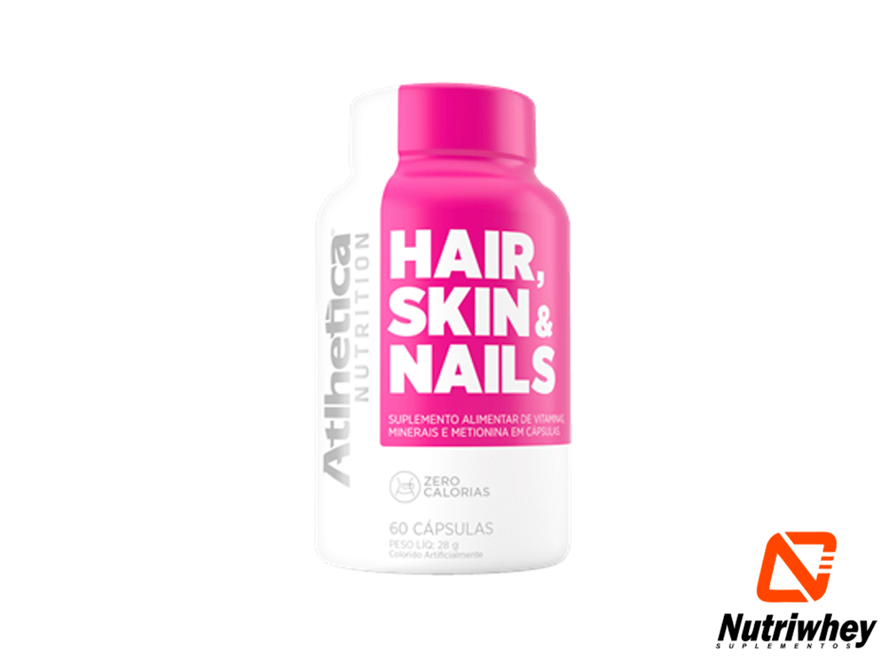 Hair, Skin & Nails | Atlhetica Nutrition | 60 Cápsulas