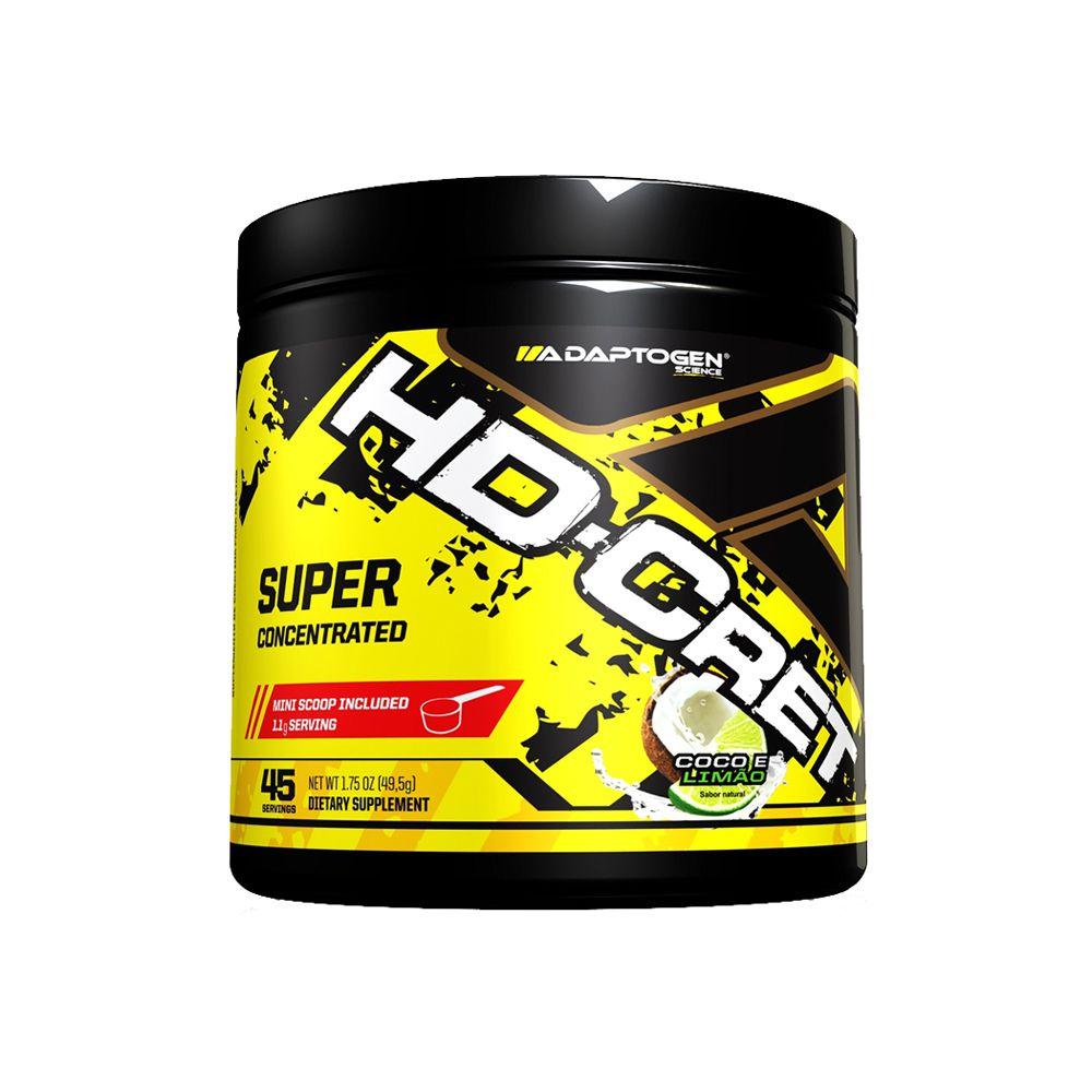 HD Creatine | Coco e Limão | Adaptogen | 45 Doses