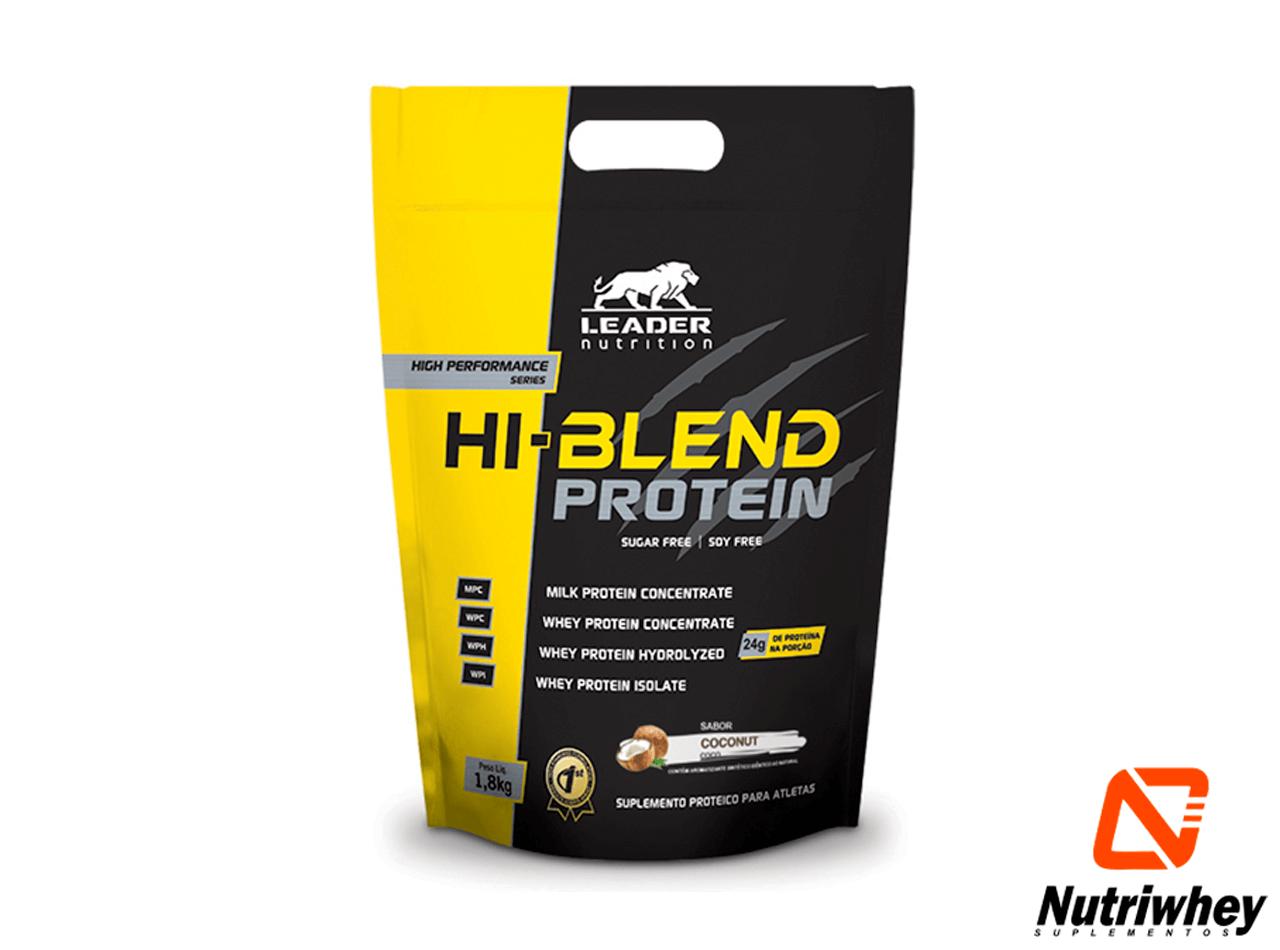HI-Blend Protein - Sugar Free - Soy Free | Leader Nutrition | Refil 900g