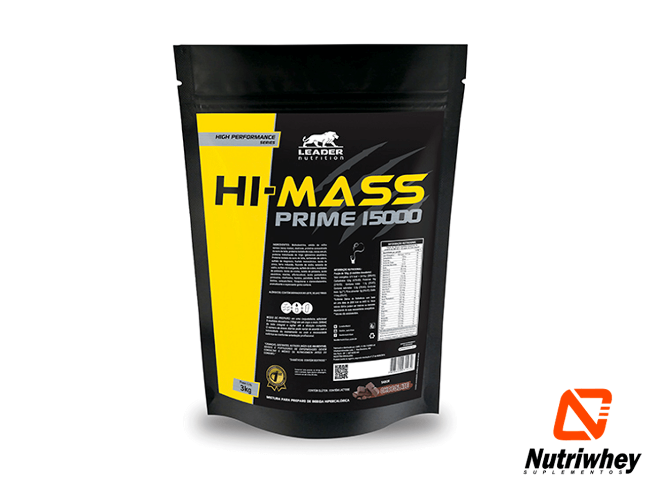 HI-Mass Prime 15.000 | Leader Nutrition | 3kg