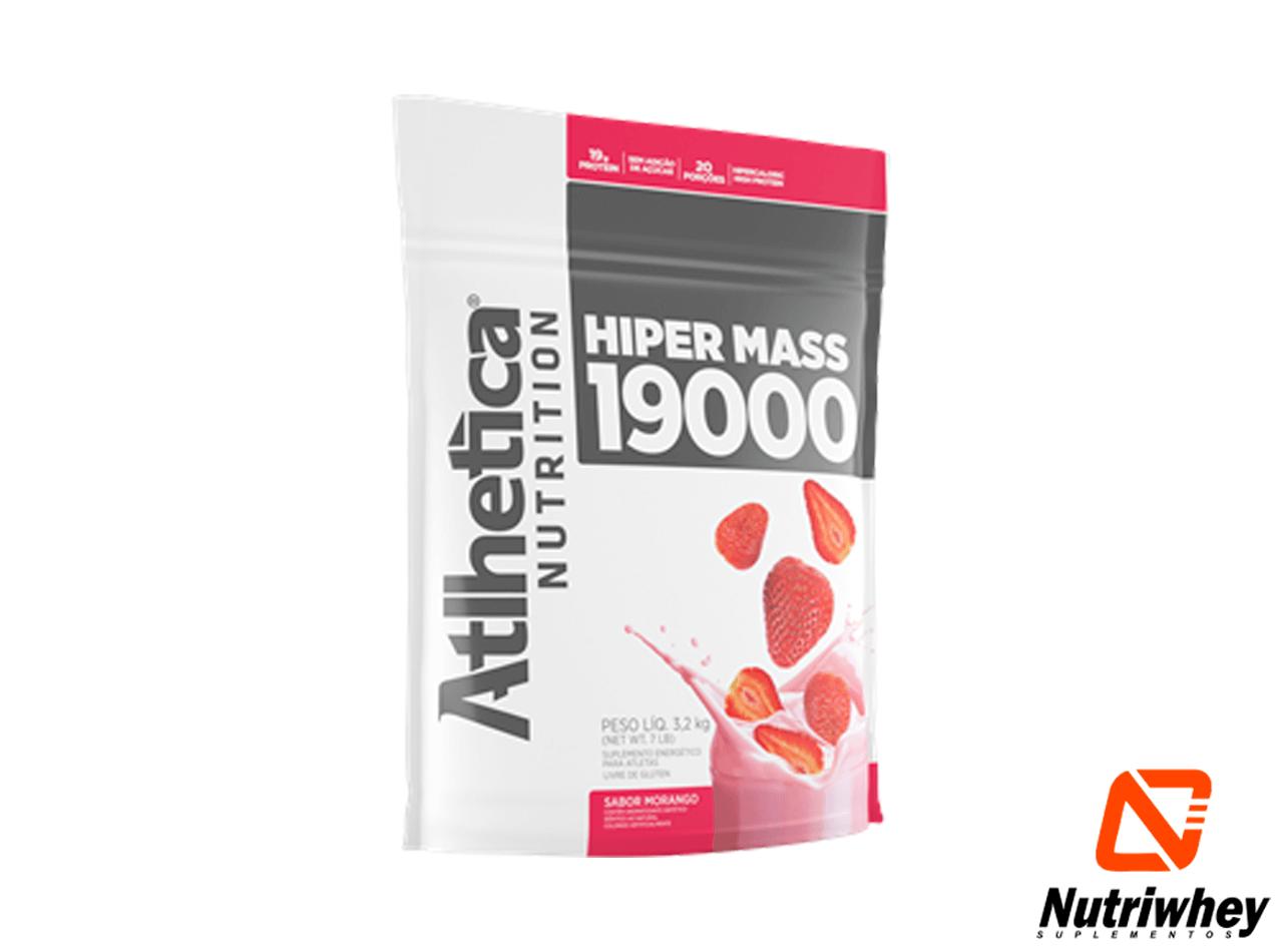 Hiper Mass 19000 | Atlhetica Nutrition | 3.2kg