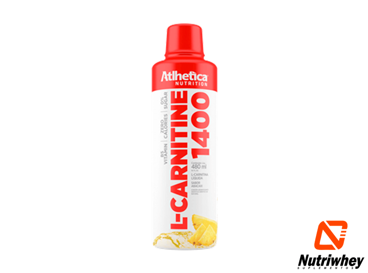 L-Carnitina 1400 | Atlhetica Nutrition | 480ml