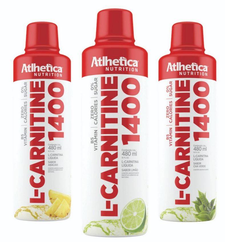 L-Carnitine 1400 | Atlhetica Nutrition | 480ml