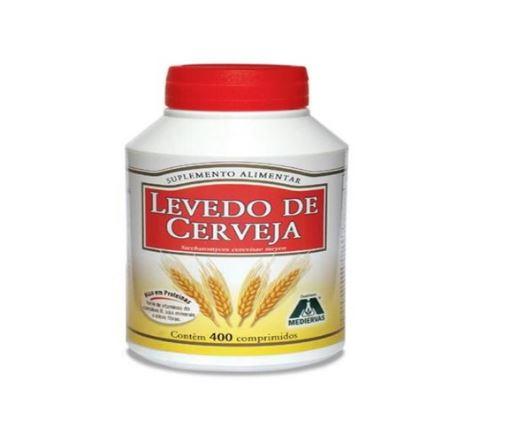 LEVEDO DE CERVEJA (400CAPS) - MEDIERVAS
