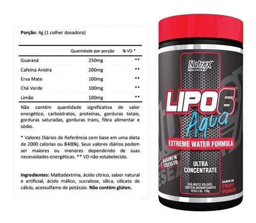 LIPO 6 AQUA|132G| NUTREX RESEARCH