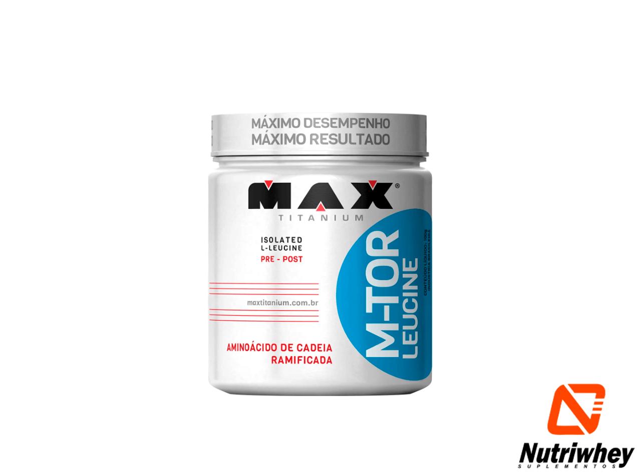 M-TOR Leucine | Max Titanium | 100g