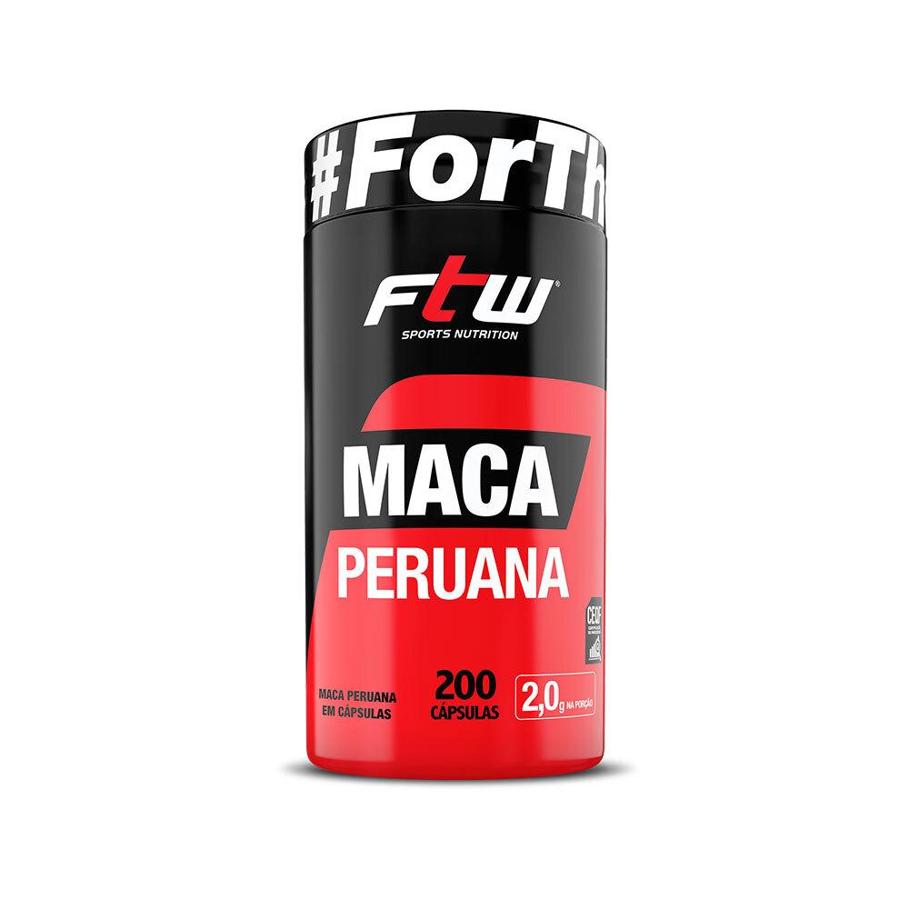 Maca Peruana FTW - 200 cáps