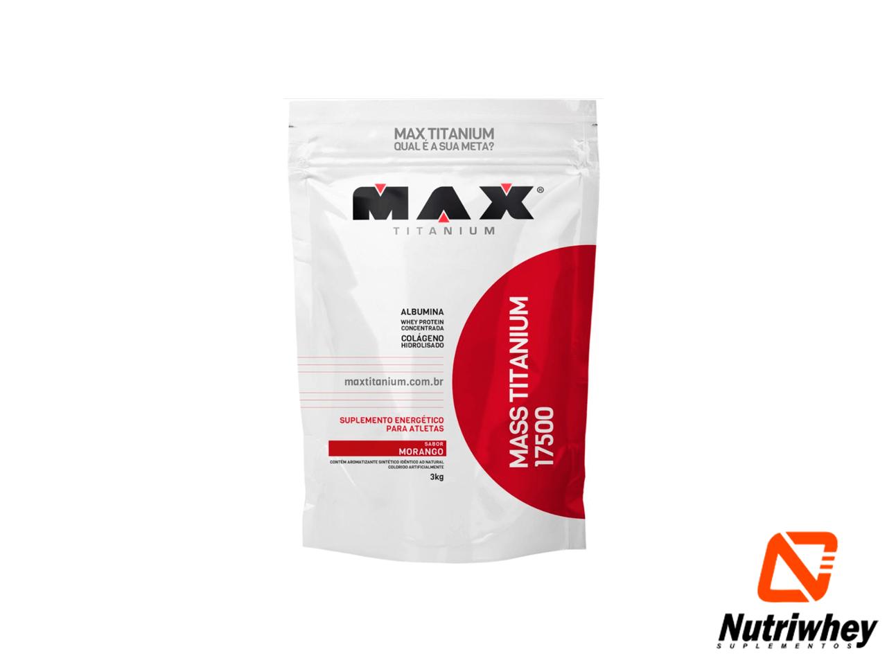 MASS Titanium 17500 | Max Titatium | 3kg