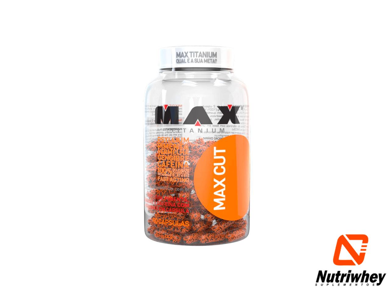 Max Cute | Max Titanium | 60 Cápsulas