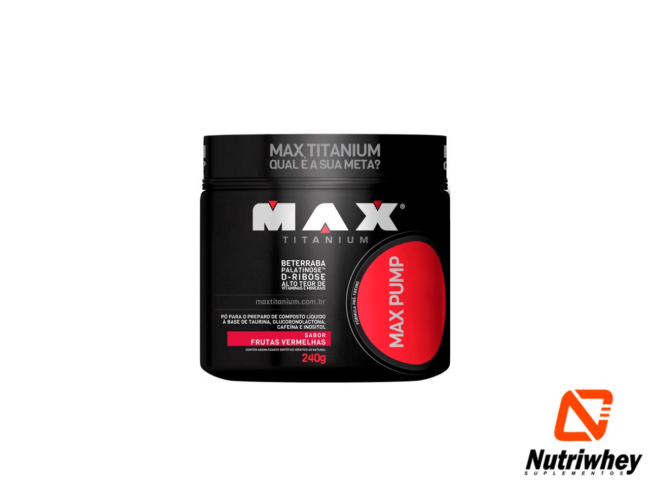 Max Pump | Max Titanium | 240g