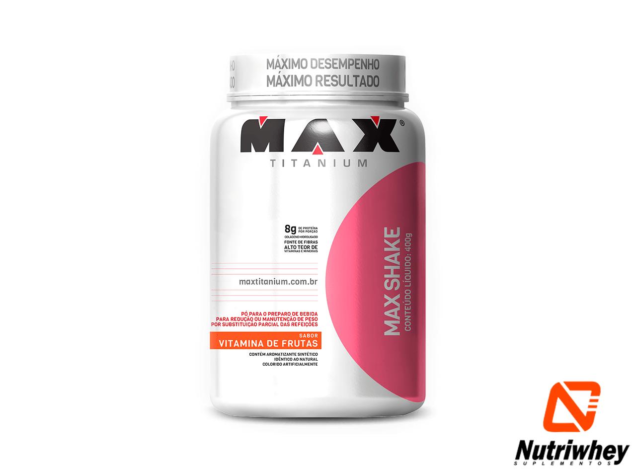 Max Shake | Max Titanium | 400g