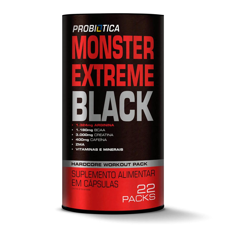 MONSTER EXTREME BLACK |22PACKS| PROBIOTICA
