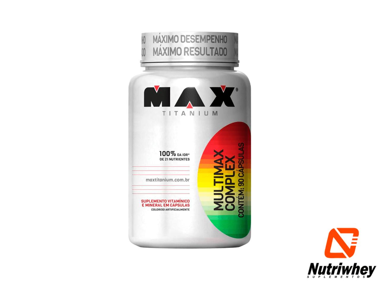 Multimax Complex | Max Titanium | 90 Cápsulas