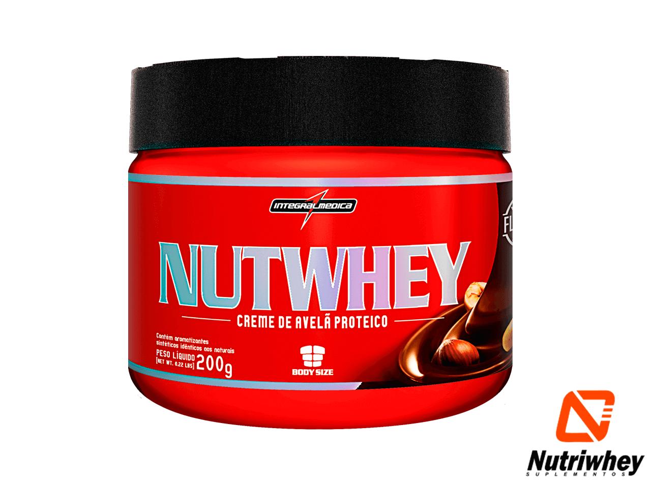 Nutwhey Creme de Avelã Proteico | Integral Médica | 200g