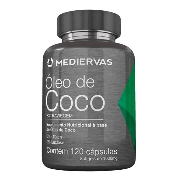 ÓLEO DE COCO| 120CAPS| MEDIERVAS