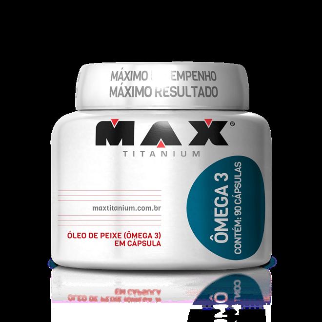 Omega 3 | Max Titanium | 90 Cápsulas