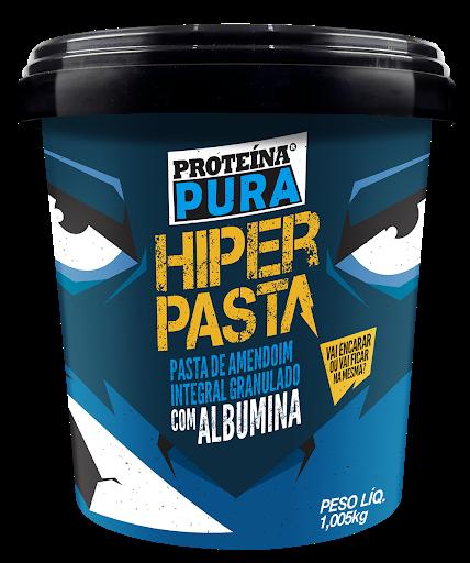 Pasta de Amendoim com Albumina 1kg / Proteína Pura