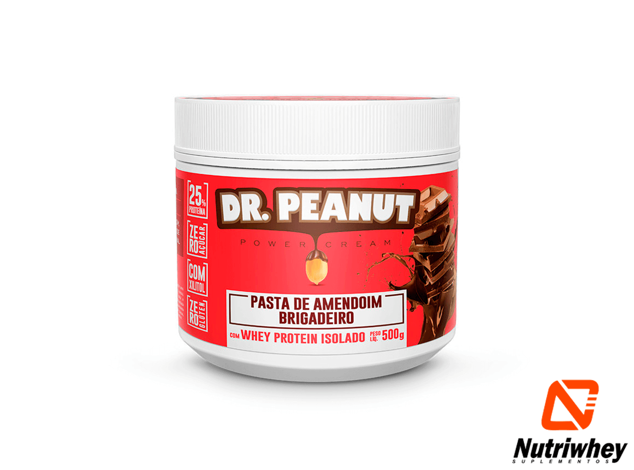 Pasta de Amendoim Dr. Peanut | Dr. Peanut | 500g