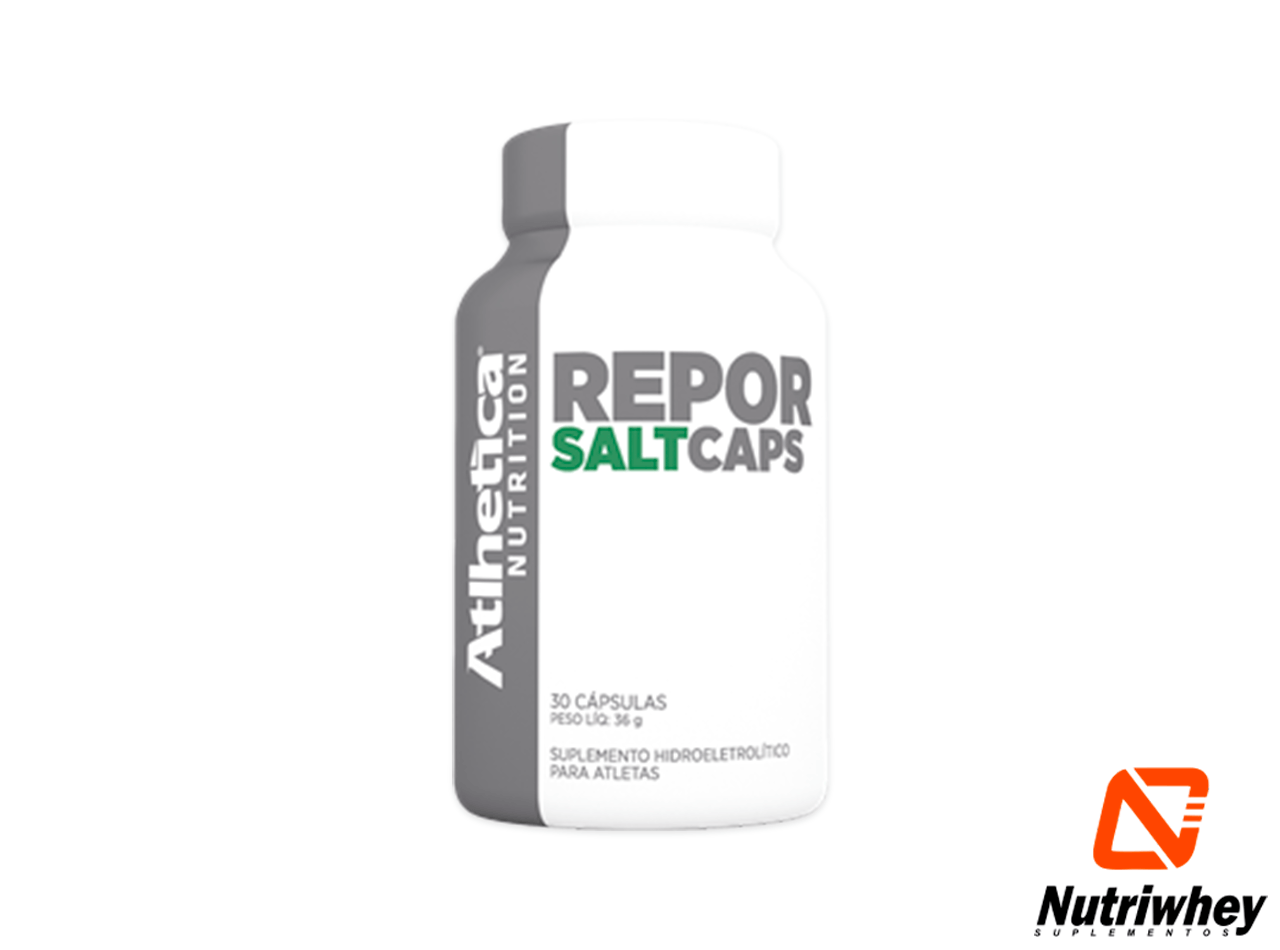 Report Salt - Endurance Series | Atlhetica Nutrtition | 30 Cápsulas