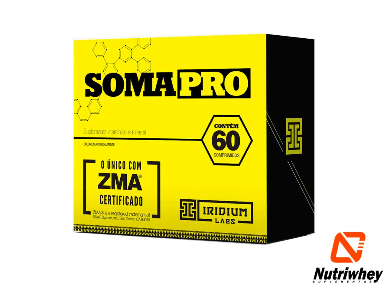 Soma PRO - O Único com ZMA Certificado | Iridium Labs | 60 Comprimidos