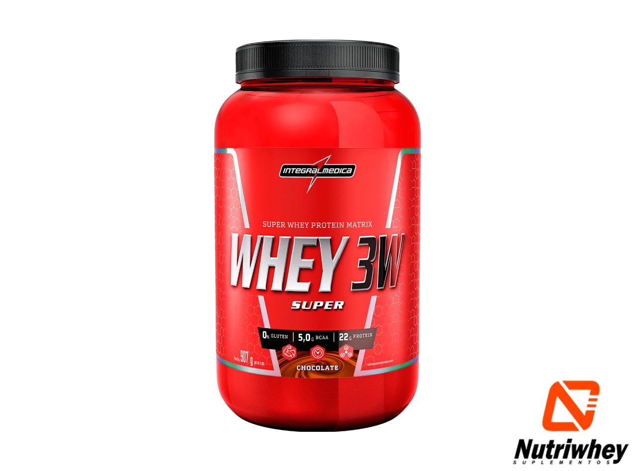 Super Whey 3W - Super Whey Protein Matrix   Integral Médica   1.8kg