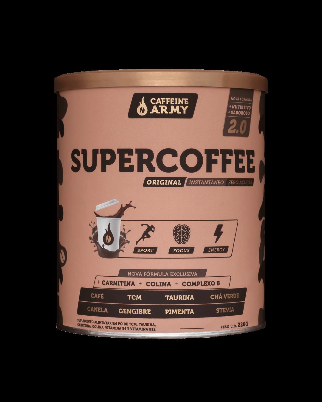 SUPERCOFFEE| 220G| CAFEINE ARMY