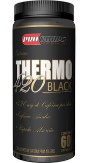 Thermo Black | Pro Corps | 60 CÁPSULAS