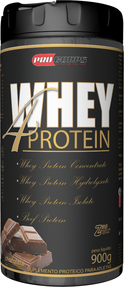 Whey 4 protein ( 900g) Procorps