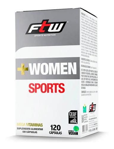 + WOMEN SPORTS MEGA VITAMINAS|120 CAPS| FTW