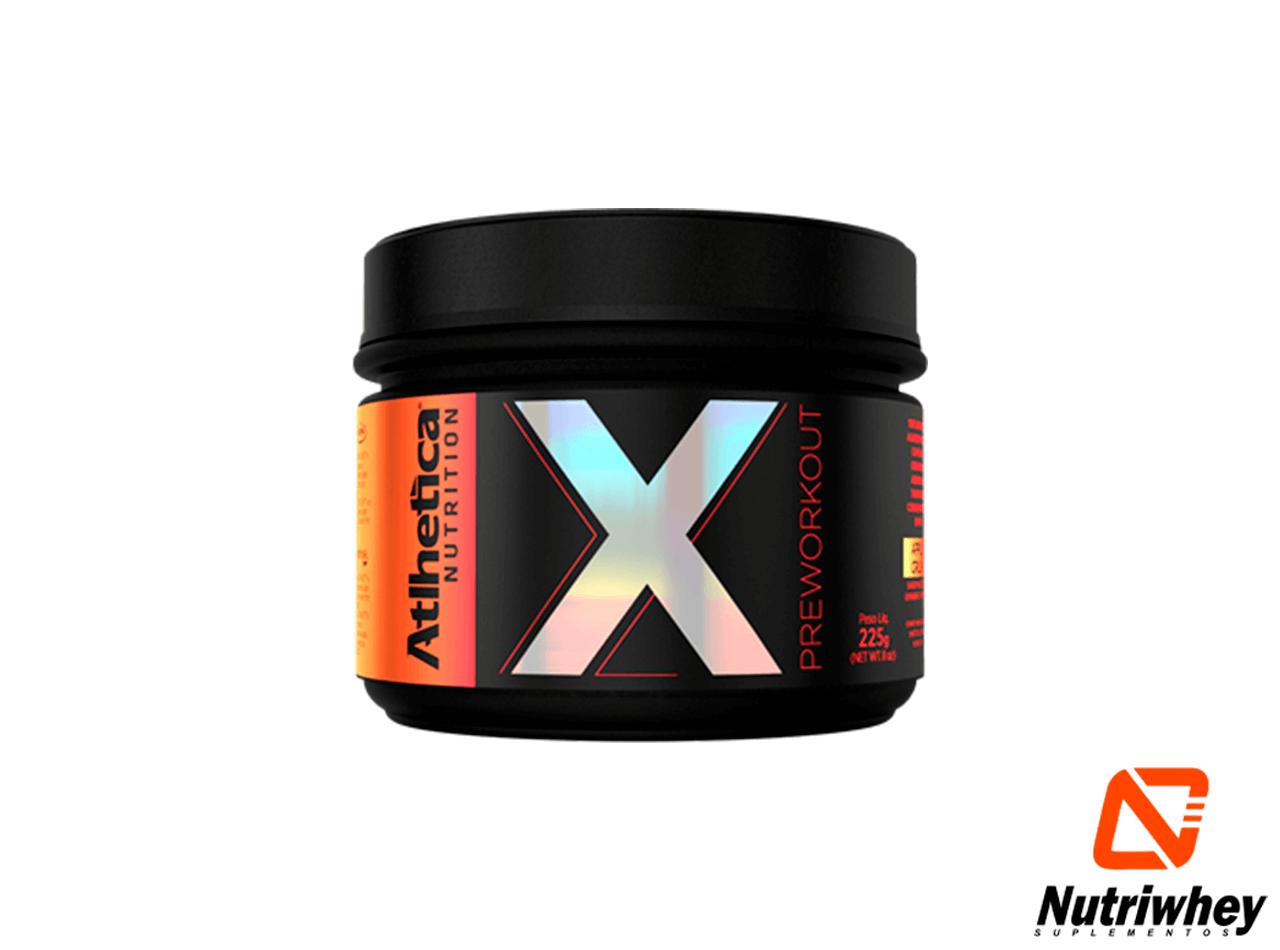 X Pre Workout | Atlhetica Nutrition | 225g