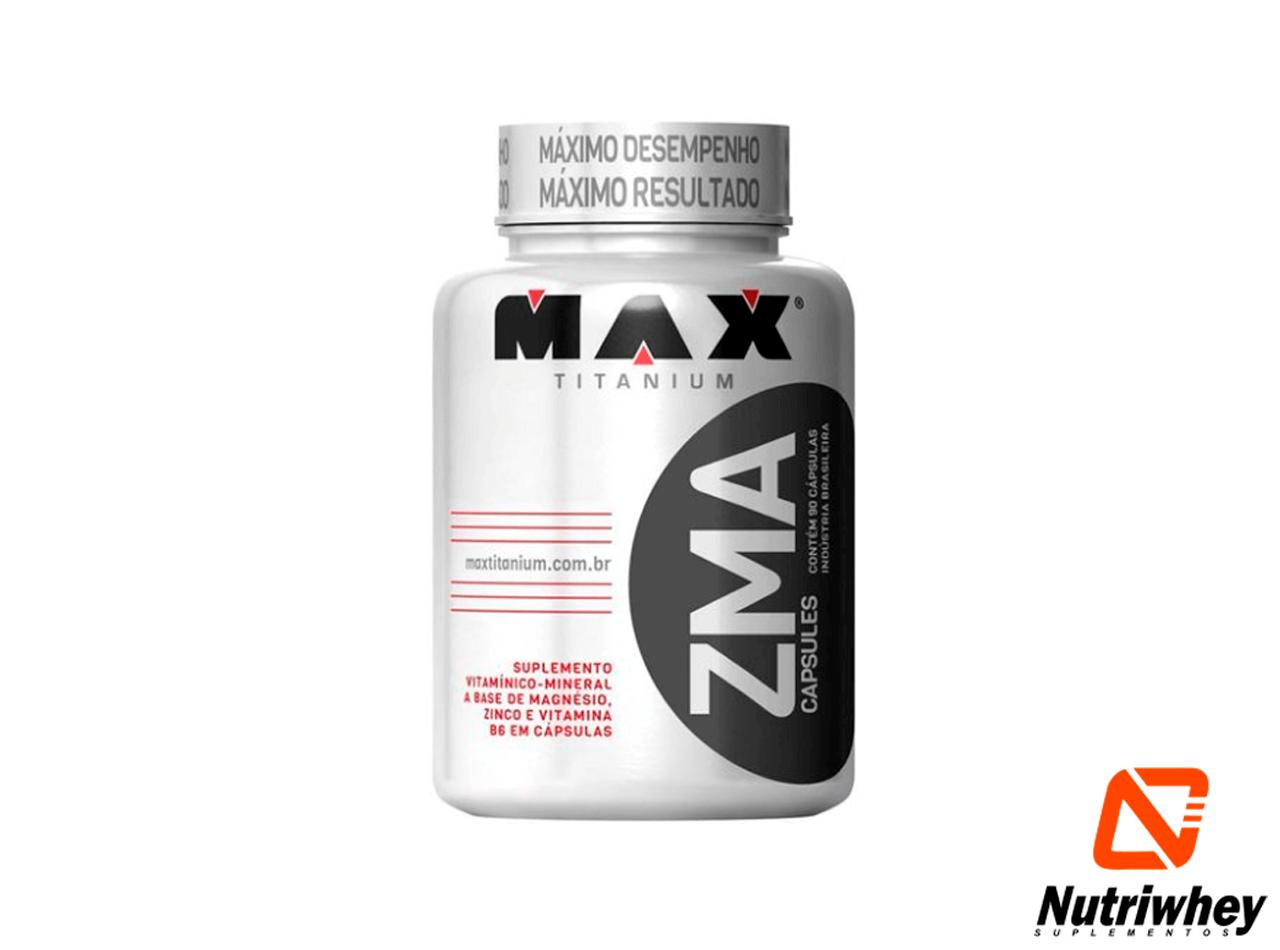 ZMA | Max Titanium | 90 Cápsulas