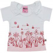 Blusa Alenice Flores - 1 ao 3