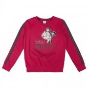 Blusão Cativa moletom peluciado Mickey - 10 ao 16