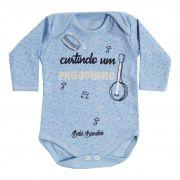 Body Bebê Brincalhão Frases Curtindo um Pagodinho - Rn ao G