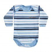 Body Bebê Brincalhão Listrado - Rn ao G