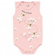 Body Regata Kiko Baby - Abelhinha - RN ao G