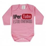 Body Pequenino Baby Frases Não Perturbe Estou Mamando - P ao G